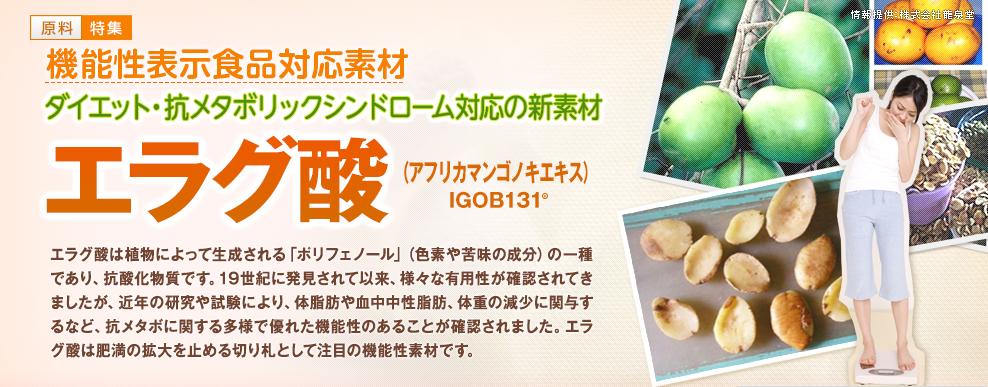 アフリカマンゴノキ由来エラグ酸 副作用
